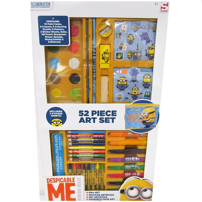 Minions 52 pcs Art Case