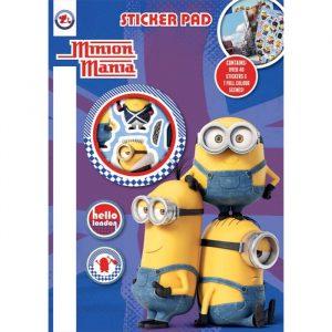 Minion Mania Sticker Set