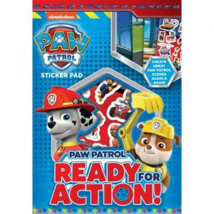 Paw Patrol Sticker Set with Backgrounds