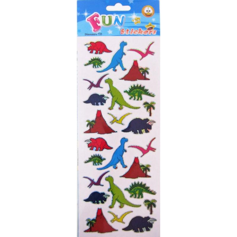 Fun Stickers Eläimet Tarra-arkki