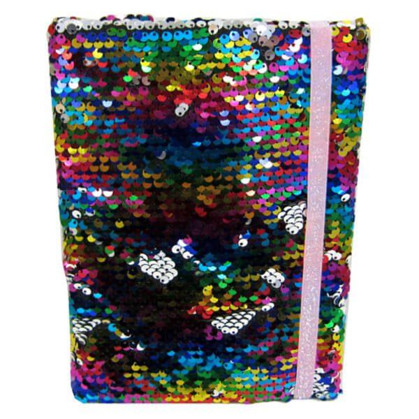 Paljetti-Glitter muistikirja