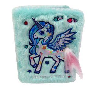 Unicorn pörröinen muistikirja