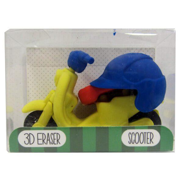 3D skootteri pyyhekumisetti