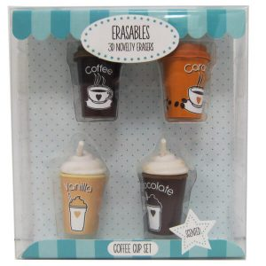 3D tuoksuvat kahvikuppipyyhekumit