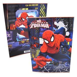 Spiderman A5 nidottu vihko