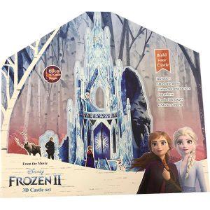 Frozen II 3D linna väritysboxi