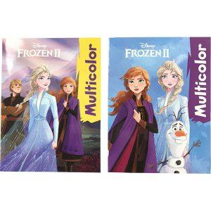 Frozen II Multicolor värityskirja