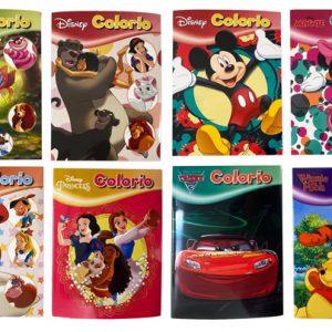 Disney Colorio värityskirja lajitelma