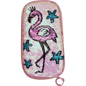 Flamingo paljetti penaali