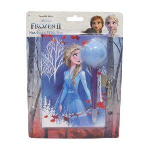 Frozen II päiväkirja pörrökynällä