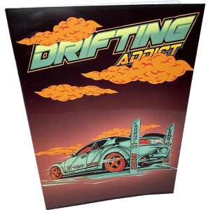 Drifting A5 nidottu vihko