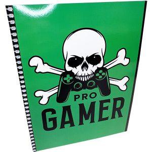Pro Gamer kierrevihko A5